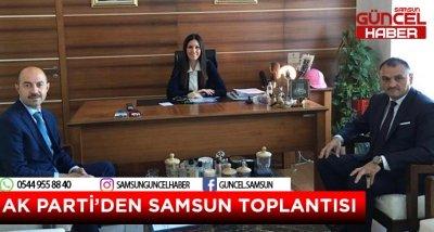 AK PARTİ'DEN SAMSUN TOPLANTISI