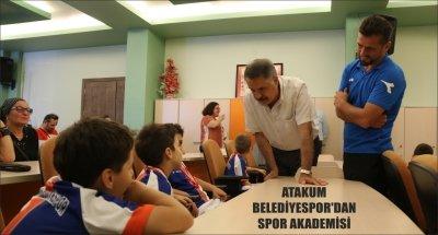 ATAKUM BELEDİYESPOR'DAN SPOR AKADEMİSİ