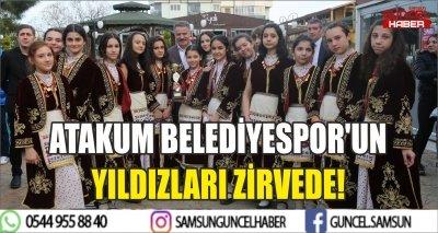 ATAKUM BELEDİYESPOR'UN YILDIZLARI ZİRVEDE!