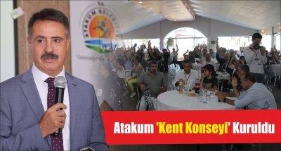 Atakum 'Kent Konseyi' Kuruldu