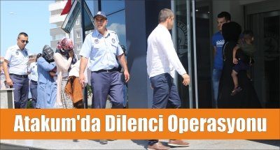 Atakum'da Dilenci Operasyonu