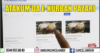 ATAKUM'DA E-KURBAN PAZARI