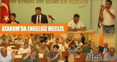 ATAKUM'DA ENGELSİZ MECLİS