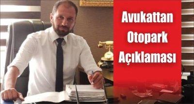 Avukattan Otopark Açıklaması