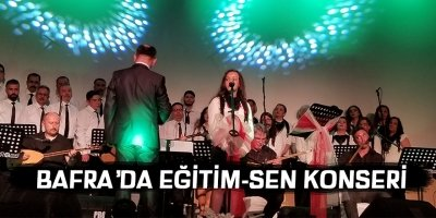 Bafra Eğitim-Sen'den Türk Halk Müziği konseri