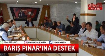 BARIŞ PINAR'INA DESTEK