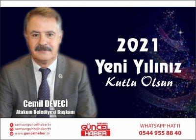 Başkan Cemil Deveci: Yeni yılda da var gücümüzle çalışacağız