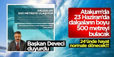 Başkan Cemil Deveci'den espirili mesaj!