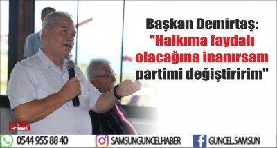 Başkan Demirtaş: