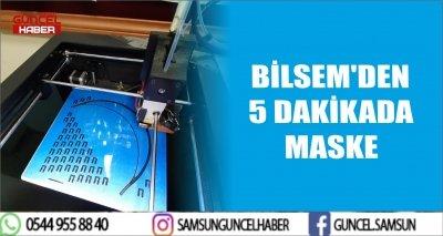 BİLSEM'DEN 5 DAKİKADA MASKE