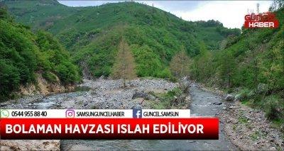 BOLAMAN HAVZASI ISLAH EDİLİYOR