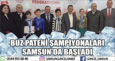 BUZ PATENİ ŞAMPİYONALARI SAMSUN'DA BAŞLADI