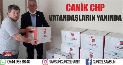 CANİK CHP VATANDAŞLARIN YANINDA