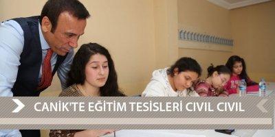 CANİK'TE EĞİTİM TESİSLERİ CIVIL CIVIL