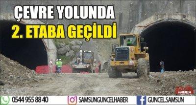 ÇEVRE YOLUNDA 2. ETABA GEÇİLDİ