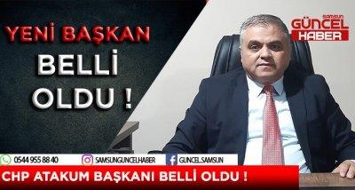 CHP ATAKUM BAŞKANI BELLİ OLDU !
