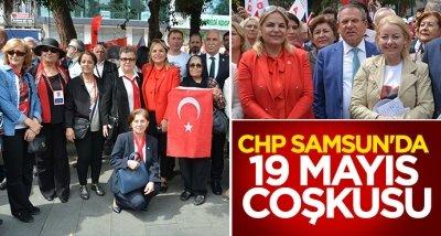 CHP Samsun'da 19 Mayıs coşkusu
