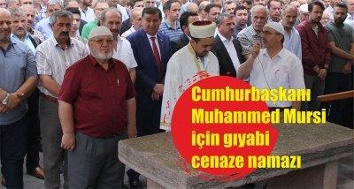 Cumhurbaşkanı Muhammed Mursi için gıyabi cenaze namazı