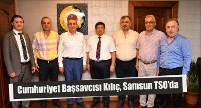 Cumhuriyet Başsavcısı Kılıç, Samsun TSO'da