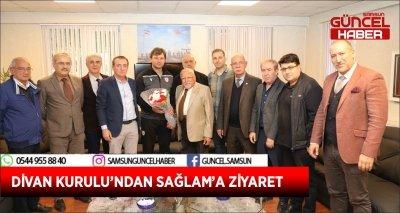 DİVAN KURULU'NDAN SAĞLAM'A ZİYARET