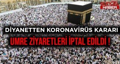 DİYANETTEN KORONAVİRÜS KARARI !