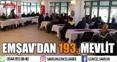 EMŞAV'DAN 193. MEVLİT