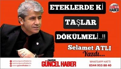 ETEKLERDEKİ TAŞLAR DÖKÜLMELİ.!!!