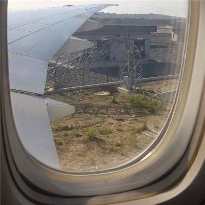 Havalimanında kaza!
