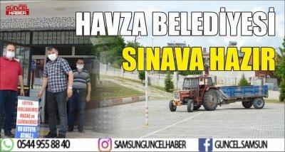 HAVZA BELEDİYESİ SINAVA HAZIR