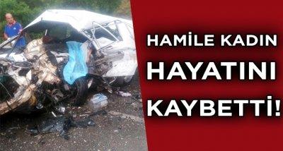 İki araç kafa kafaya çarpıştı! 1'i hamile 3 kişi hayatını kaybetti, 1 kişi de yaralandı