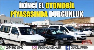 İKİNCİ EL OTOMOBİL PİYASASINDA DURGUNLUK