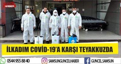 İLKADIM COVİD-19'A KARŞI TEYAKKUZDA