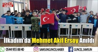İlkadım'da Mehmet Akif Ersoy Anıldı