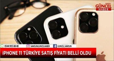 iPHONE 11 TÜRKİYE SATIŞ FİYATI BELLİ OLDU