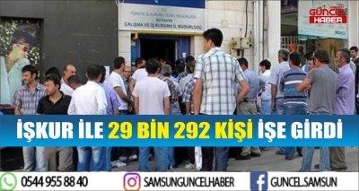 İŞKUR İLE 29 BİN 292 KİŞİ İŞE GİRDİ