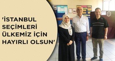 'İstanbul seçimleri ülkemiz için hayırlı olsun'