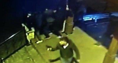 İstanbul'da cami avlusunda dehşet
