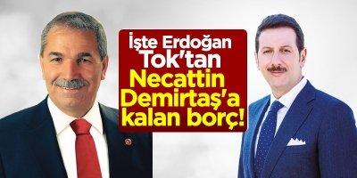 İşte Erdoğan Tok'tan Necattin Demirtaş'a kalan borç!