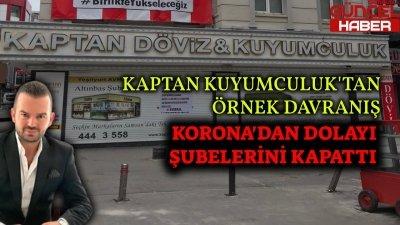 KAPTAN KUYUMCULUK'TAN ÖRNEK DAVRANIŞ