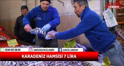 KARADENİZ HAMSİSİ 7 LİRA