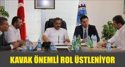 KAVAK ÖNEMLİ ROL ÜSTLENİYOR