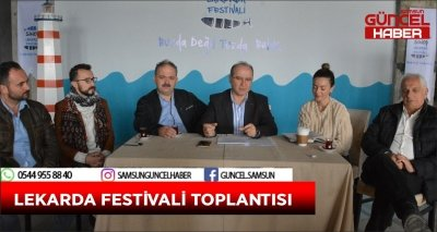 LEKARDA FESTİVALİ TOPLANTISI