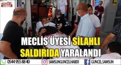 MECLİS ÜYESİ SİLAHLI SALDIRIDA YARALANDI