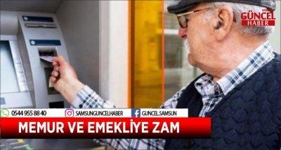 MEMUR VE EMEKLİYE ZAM