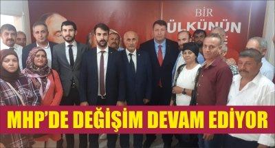 MHP'DE DEĞİŞİM DEVAM EDİYOR