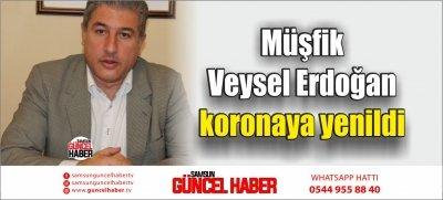 Müşfik Veysel Erdoğan koronaya yenildi