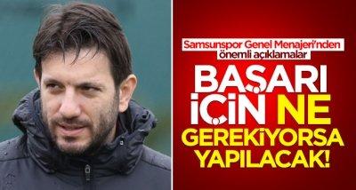 Mustafa Aztopal: Başarı için ne gerekiyorsa yapılacak!