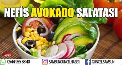 NEFİS AVOKADO SALATASI
