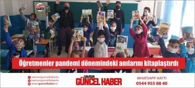 Öğretmenler pandemi dönemindeki anılarını kitaplaştırdı