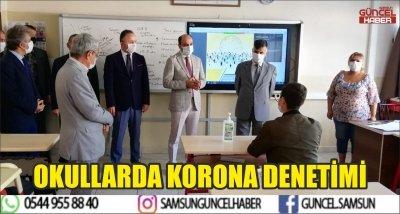 OKULLARDA KORONA DENETİMİ